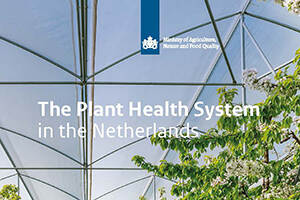 Brochure The Plant Health System in the Netherlands beschikbaar