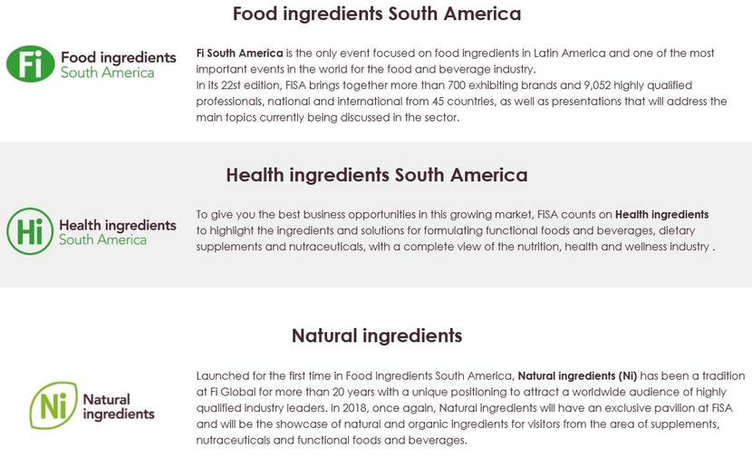 FI Food Ingredients