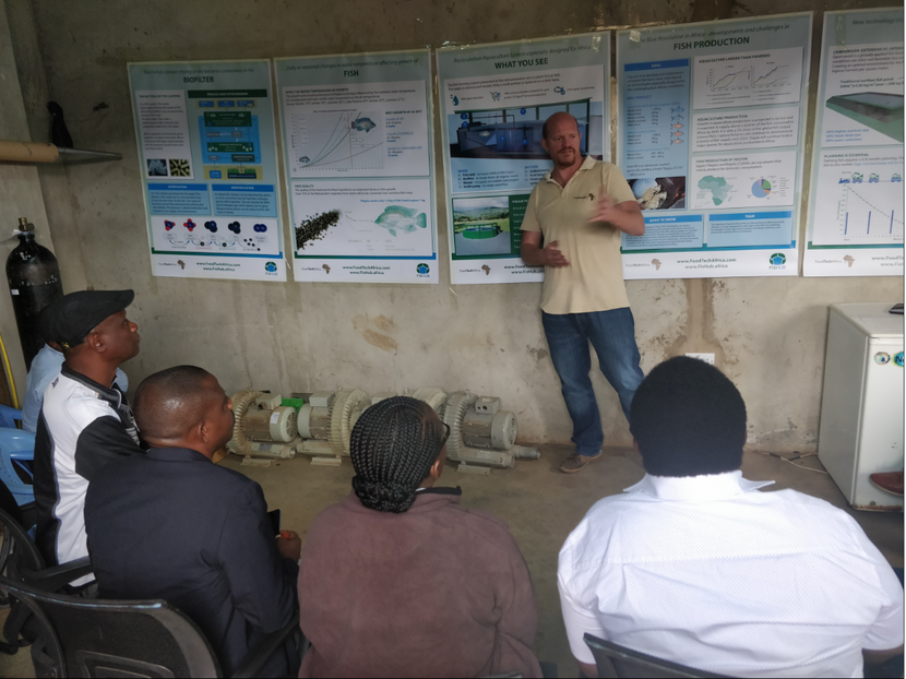 Introducing RAS to the Tanzanian aquaculture working group