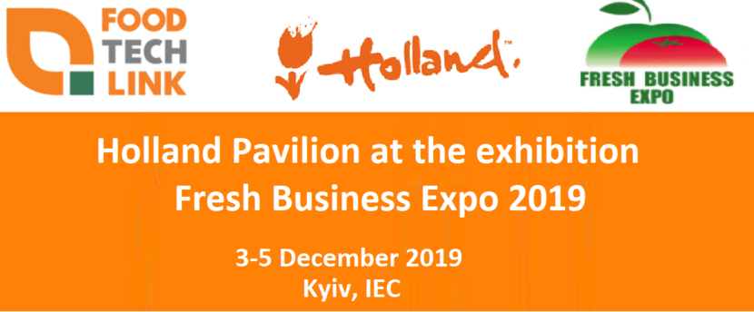 Holland Pavilion and Fresh Business Expo