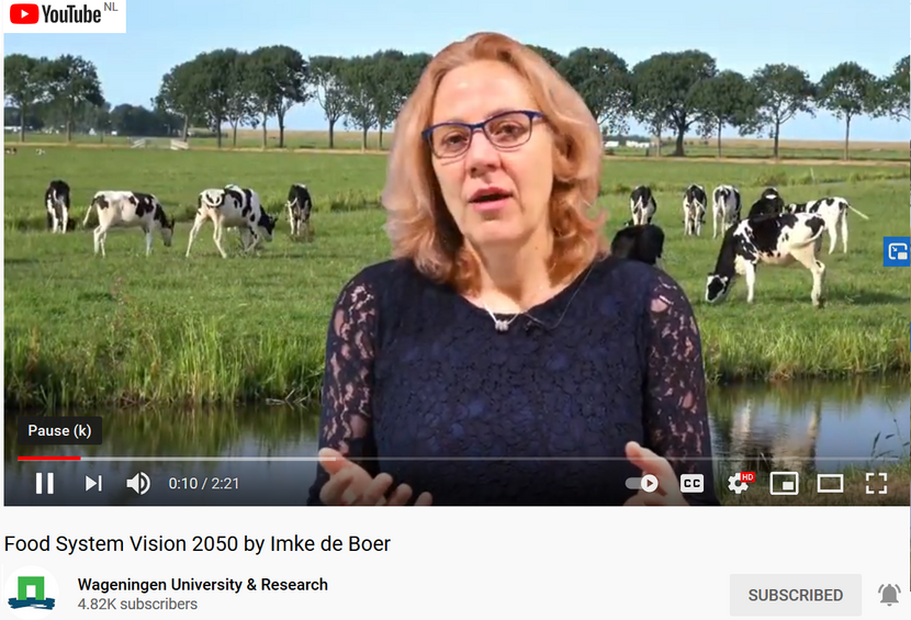 Food System Vision 2050 by Imke de Boer video