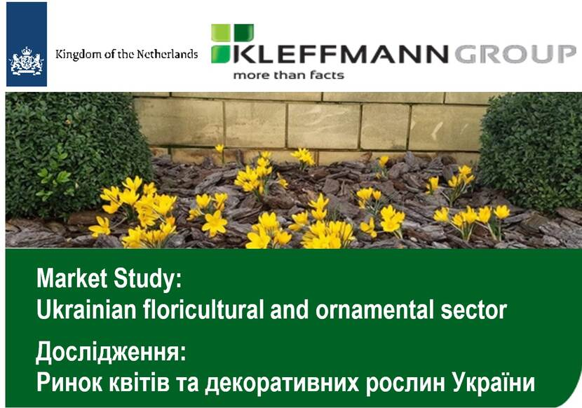 Market study: floricultural and ornamental sector of Ukrraine
