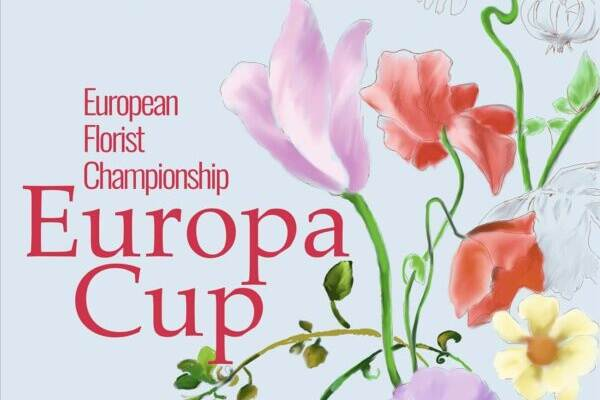 Logo of Europa Cup floristry championship in Poland