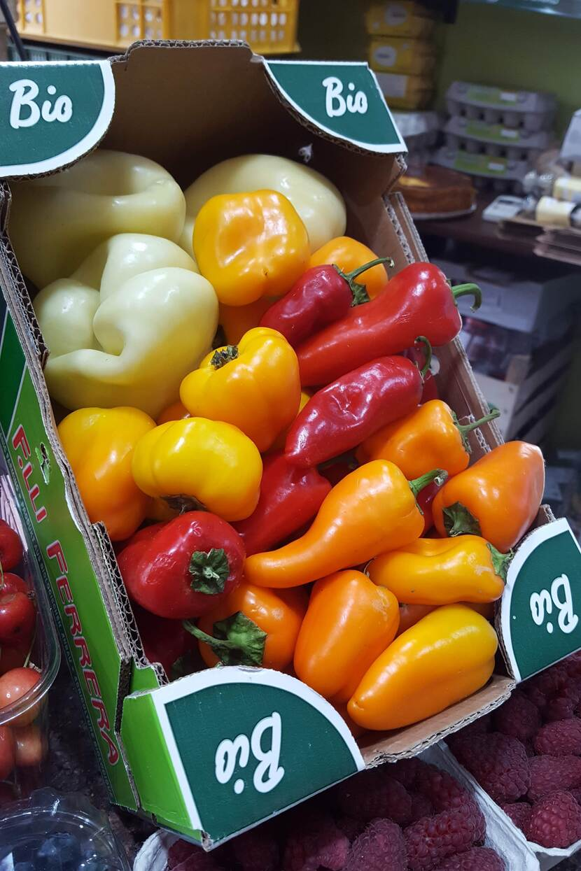 bio vegetables