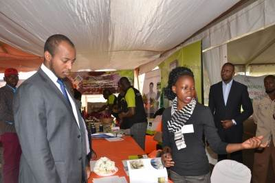 Holland Pavilion at Harvest Money Exposition 2017 in Kampala