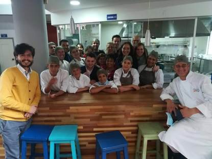 Visit to MANQ'A gastronomy school in Bogota - 2018