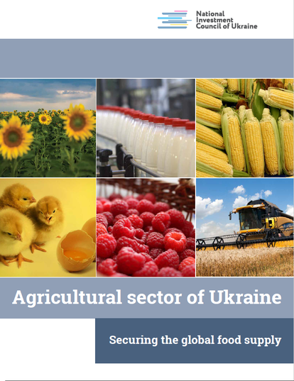 Agricultural sector of Ukraine: securing global food supply